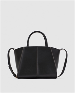 MEDIUM TOTE BAG WITH CONTRASTING DETAIL