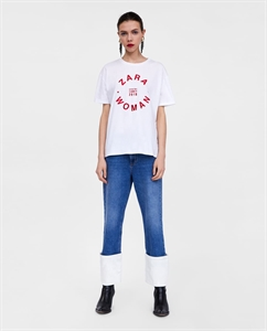 CAPSULE COLLECTION T-SHIRT WITH PRINTED LOGO