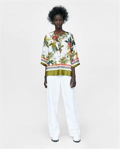 PRINTED SHIRT WITH PLACKET