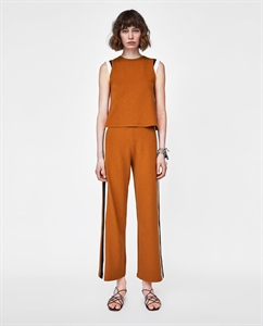 TROUSERS WITH SIDE STRIPE DETAIL