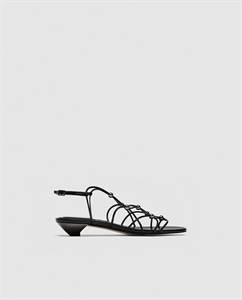 STRAPPY SANDALS WITH METAL DETAILS
