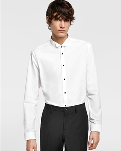 SHIRT WITH TUXEDO COLLAR