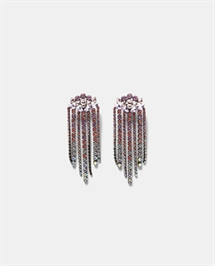 SHINY GLASS EARRINGS