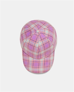 CHECKED CAP