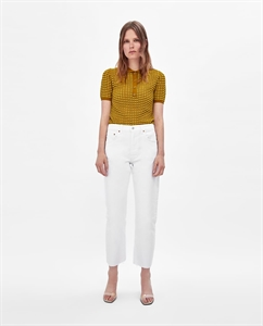 NEW STRAIGHT WHITE JEANS