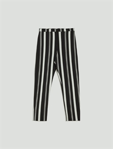 Stripe pattern pants