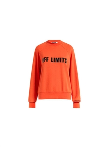 Off Limits Cotton Sweatshirt