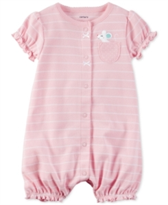 Carter's Striped Mouse Romper, Baby Girls (0-24 months)