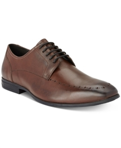 Bar Iii Men's Dane Brogued Moc Toe Derbys, Only at Macy's Men's Shoes