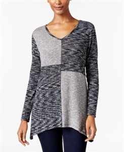 Style & Co. Colorblocked Knit Top, Only at Macy's