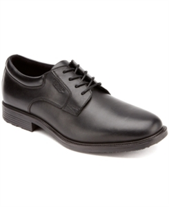 Rockport Men's Essential Details Plain Toe Waterproof Oxfords Men's Shoes