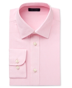 Tommy Hilfiger Boys' Pink Long-Sleeve Button-Up Shirt