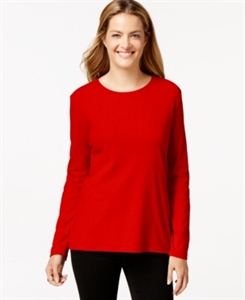 Style & Co. Crew-Neck Top, Only at Macy's