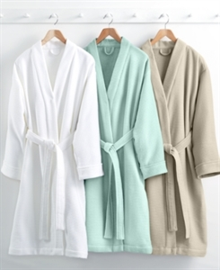 Hotel Collection Waffle Weave Robe, 100% Turkish Cotton, Only at Macy's Bedding