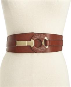 Style & Co. Semi-Wrap Interlock Stretch Belt, Only at Macy's