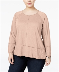 Style & Co. Plus Size High-Low Top, Only at Macy's