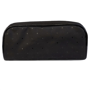 Basic Cosmetic Bag Rectangle Kit, Black