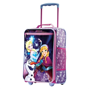 American Tourister Disney Frozen 18 Carry On Luggage, Blue