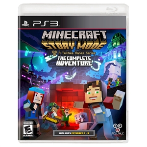 Minecraft: Story Mode - The Complete Adventure (PlayStation 3)