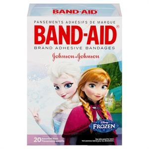 Band-Aid Disney Frozen Adhesive Bandages - 20 Count