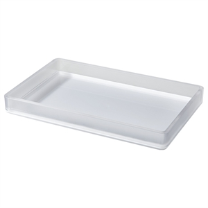 Frosted Bathroom Tray - Room Essentials
