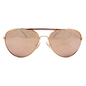Women's Non Branded Aviator Sunglasses RoseGold, Light Gold