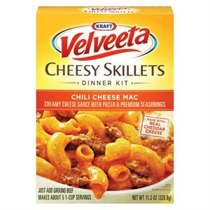 Velveeta Cheesy Skillets Chili Cheese Mac 11.3 oz