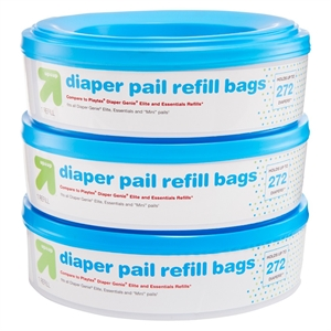 Pail Liners 3pk 816 ct total - up & up