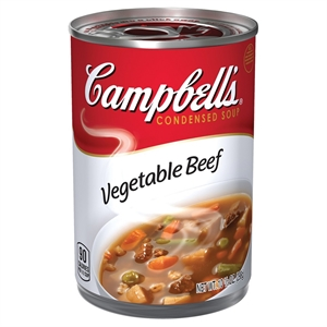 Campbell's Condensed Vegetable Beef Soup 10.5 oz