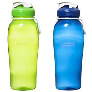 2-Pack 32 OZ PP Chug Bottle, Purple