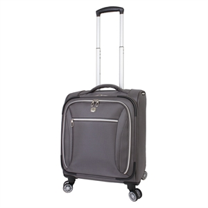 SwissGear Checklite 17 Business Companion Luggage - Charcoal, Grey