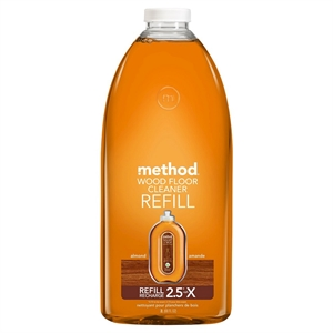 Method Almond Scented Wood Floor Cleaner Refill 68 oz