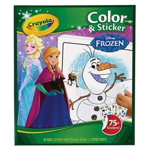 Crayola Color & Sticker - Frozen