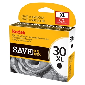Kodak 30XL Printer Ink Cartridge - Black (1550532)
