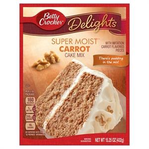 Betty Crocker Super Moist Carrot Cake Mix 15.25OZ