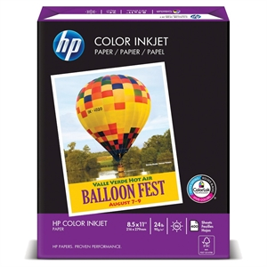 Hp Paper Color Ink Jet 400 Ct, White