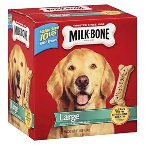 Milk-Bone Biscuits Large 160oz (10 lbs)