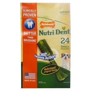 Nylabone Nutrident Small Dental Chews 24ct