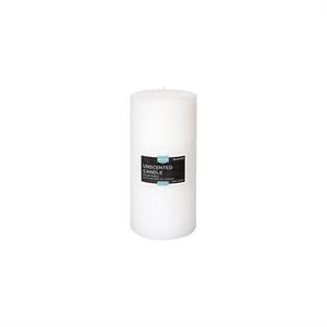 Fragrance Free White 6x3 Pillar Candle - Threshold