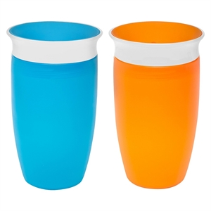 Munchkin Miracle 360 10oz Sippy Cup - 2 Pack, Multi-Colored