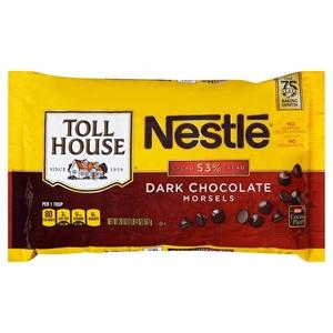 Nestle Toll House Dark Chocolate Morsels 20 oz