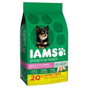 Iams Proactive Health Adult Small & Toy Breed 7 LB, Buff Beige