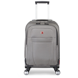 SwissGear Zurich 20 Pilot Case Carry On Luggage - Pewter (Silver)