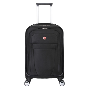 Swiss Gear Zurich 20 Carry On Pilot Case Luggage - Black