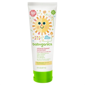 Babyganics 8 floz Sunscreen Broad Spectrum Protection