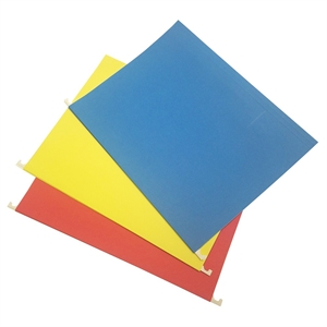 20ct Letter Size Colored Hanging File Folders - up & up, None