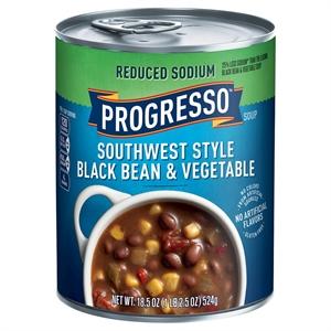 Progresso Heart Healthy Southwest Style Black Bean & Vegetable Soup 18.5 oz