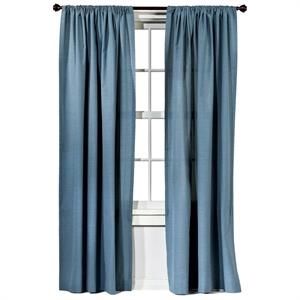 """""""Farrah Curtain Panel Blue (54""""""""x84"""""""") - Threshold"""""""