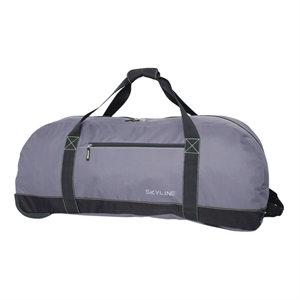 Skyline 36 Rolling Duffel Bag - Grey