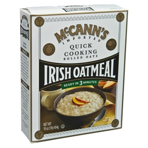 McCann's Quick Cooking Rolled Oats Irish Oatmeal 16 oz